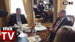 Посол РФ о визите в Сейм: жаль, что не встретил милую даму Мурниеце #MIXTV