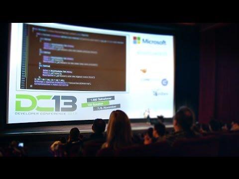 Developer Conference 2013 Hamburg Eventfilm