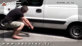 DÉTECTION D'UN TRACEUR GPS AVEC LE DETECTEUR [SECUTEC.FR]