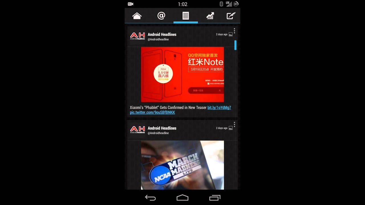 Quick Look Twidere Project for Android - YouTube