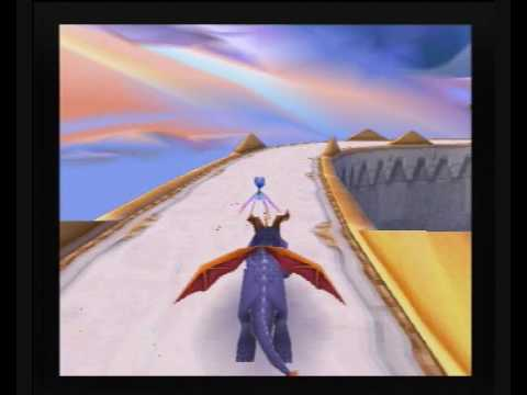 Spyro 2 Alternative Walkthrough Part 14: Annoying gem searches and swimming through the air :)