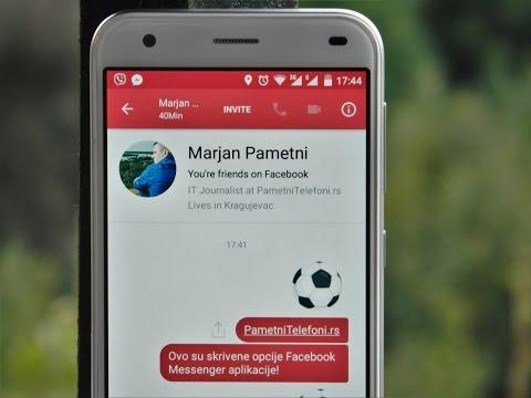 Skrivene Facebook Messenger Opcije Za Koje Niste Znali!