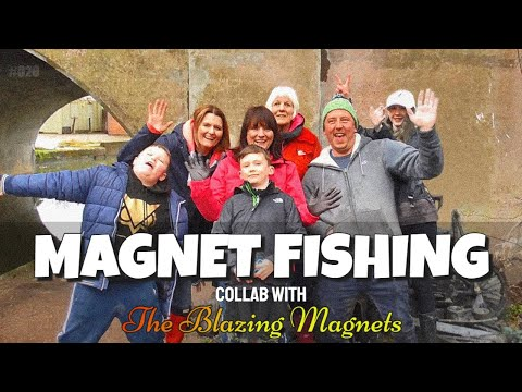 Magnet Fishing Collab with Blazing Magnets.