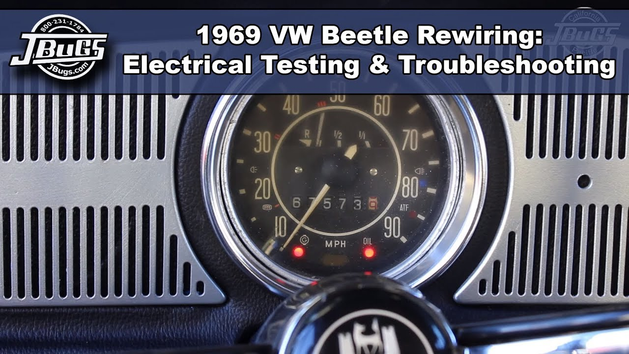 Jbugs 1969 Vw Beetle Rewiring Electrical Testing Wiring Harness Clips Troubleshooting