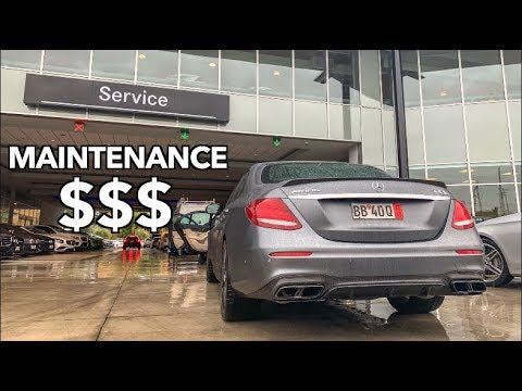 MERCEDES E63S AMG MAINTENANCE COSTS HOW MUCH?!