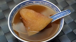 Chinese Soup Recipe : Winter Melon Soup for summer