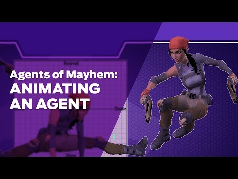 Agents of Mayhem: Animating an Agent