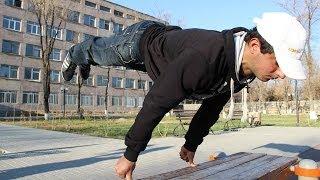 Two finger full planche push ups!!! Serge Tevosyan