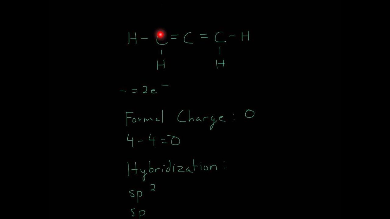 Lewis Structure of C3H4 - YouTube