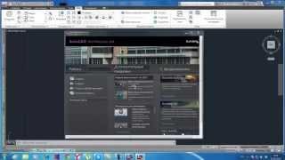 чертеж квартиры в AutoCad Architecture часть 1