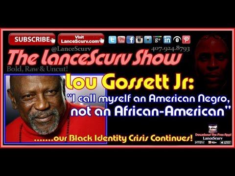 """Lou Gossett Jr: """"I Call Myself An American Negro, Not An African American!"""" - The LanceScurv Show"""