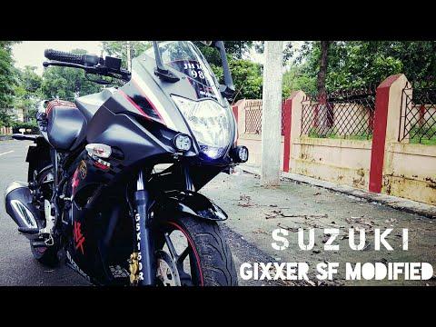 suzuki gixxer sf special edition (modification) i n d i a youtube Suzuki Gixxer Sp