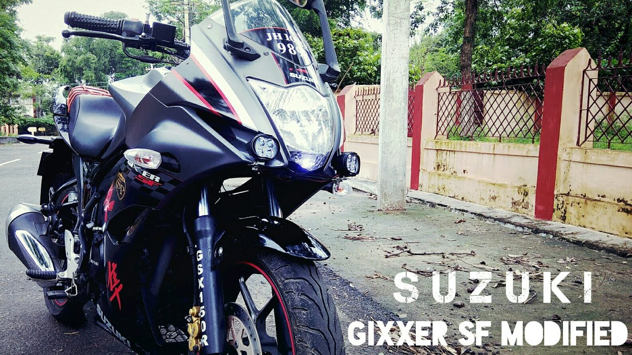 Suzuki Gixxer SF Special Edition (Modification) I N D I A