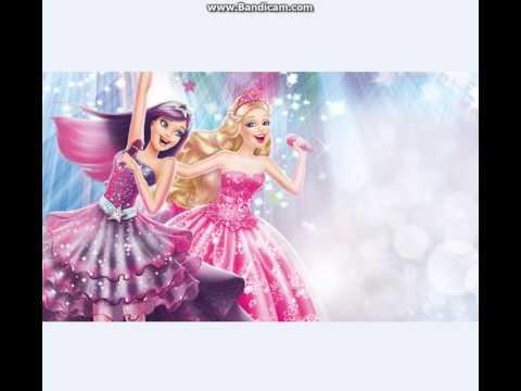 Barbie Prenses ve Popstar Burdayım türkçe şarkısı