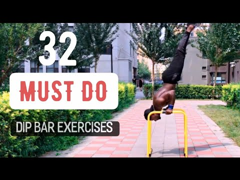 Best 32 Dip bar Exercises to build muscle