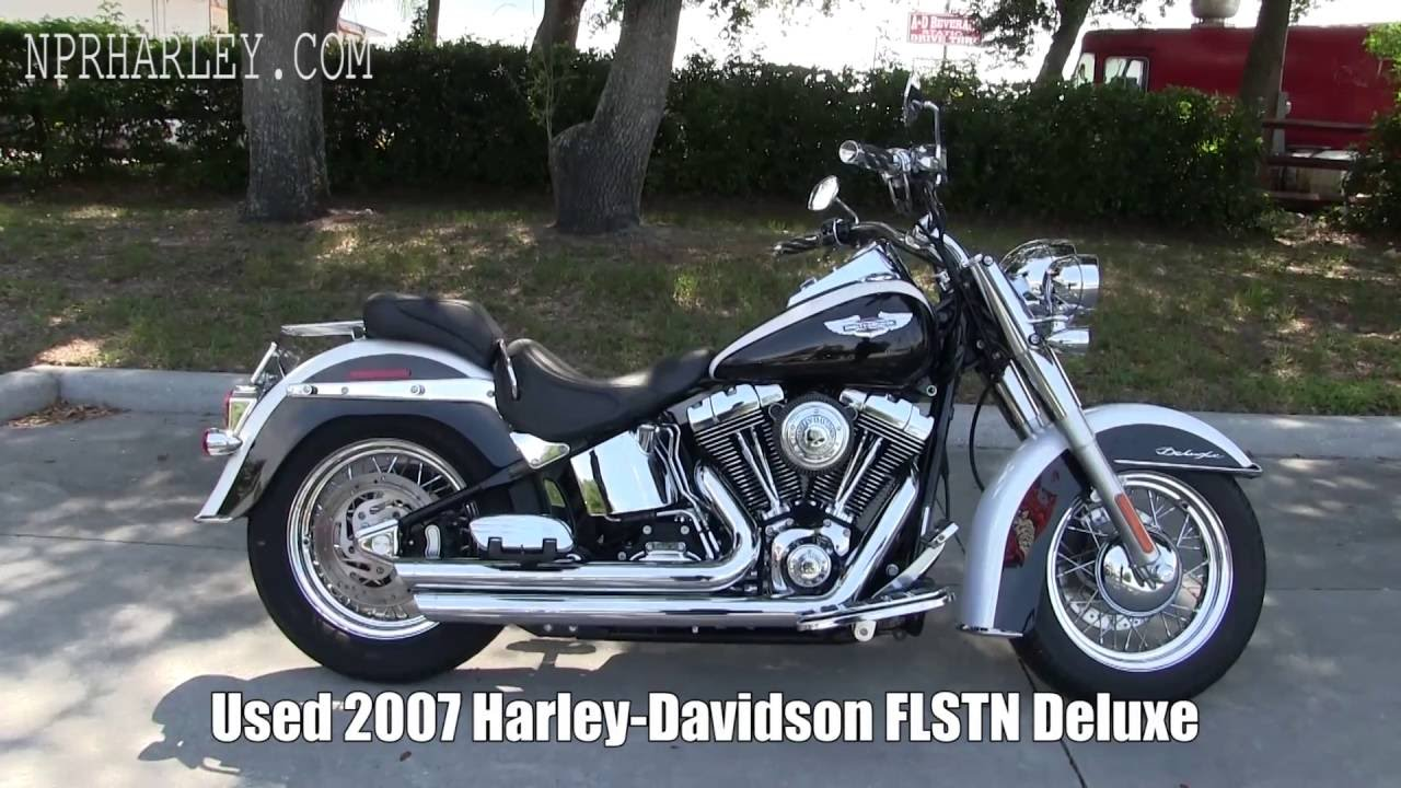 USED 2007 Harley Davidson FLSTN Deluxe for sale craigslist ...