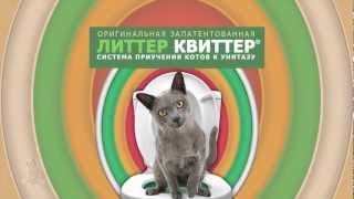 Litter Kwitter  - Как приучить кота (кошку, котенка) к унитазу
