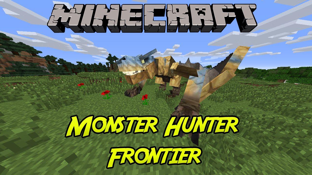 Minecraft | Monster Hunter Frontier Craft Mod (Review ...