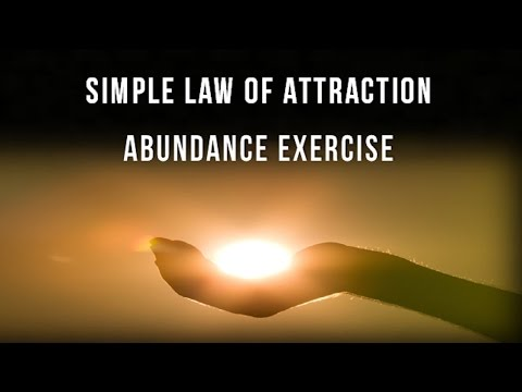 How to Align With Your Passion and Prosperity - Simple Law of Attraction Abundance Exercise
