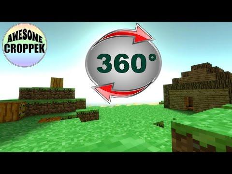Minecraft 360° #0 - TEST | Kontynuować? :)