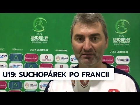 Trenér hodnotí zápas U19 s Francií