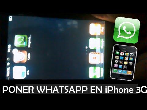 WHATSAPP IPHONE 3G FREE