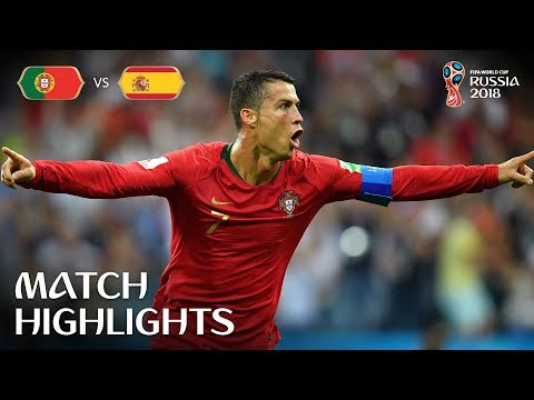 Portugal v Spain | 2018 FIFA World Cup | Match Highlights