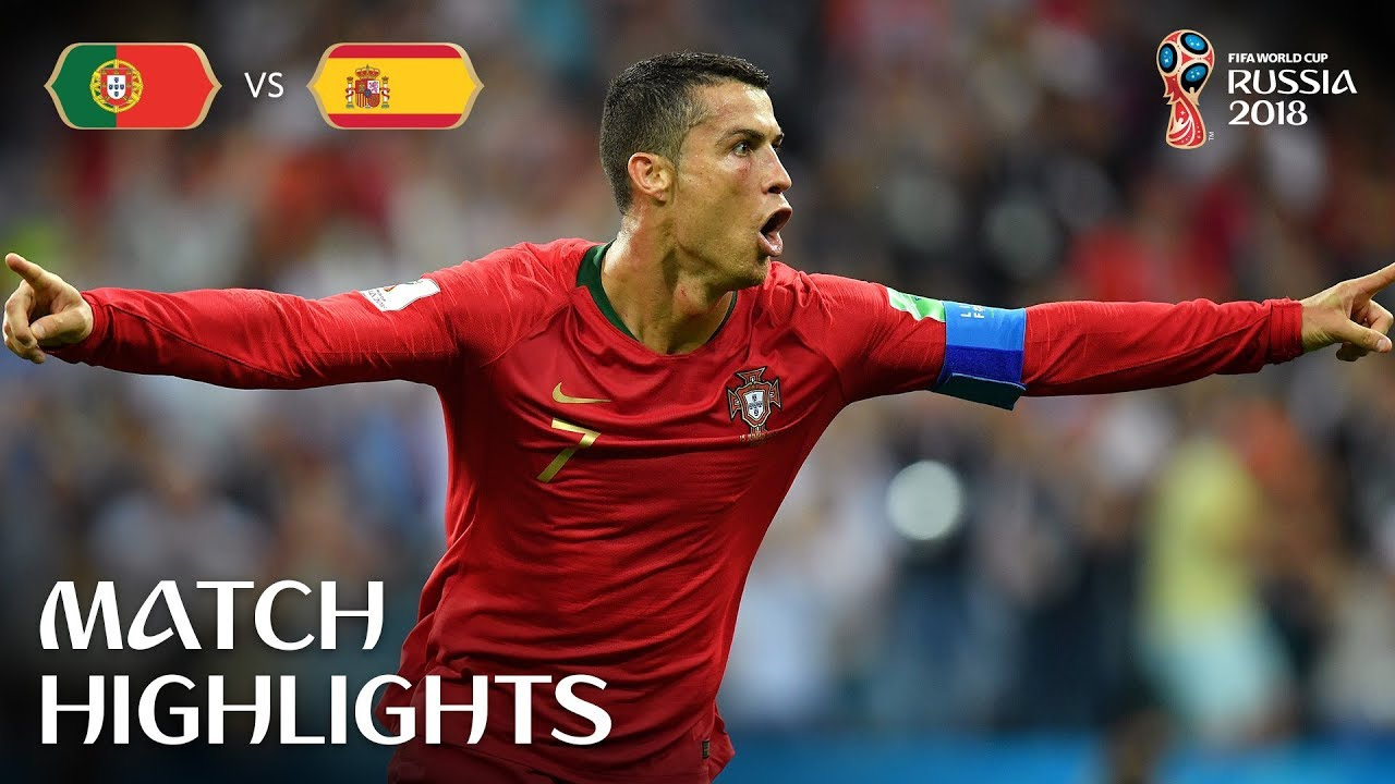 Portugal V Spain 2018 Fifa World Cup Match Highlights Youtube