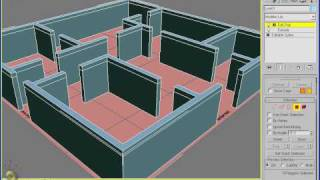 3ds Max - Pt 2 - Extruding A Floor Plan