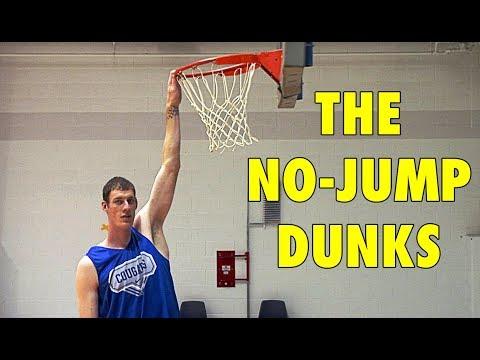 5 Basketball Players Who Did The NO-JUMP DUNKS