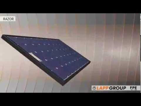 Product Animation  EPIC® SOLAR RAZOR