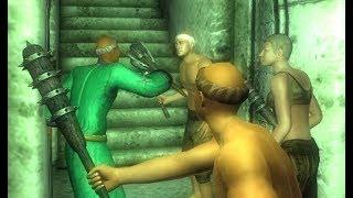 [Rus] Летсплей The Elder Scrolls 4: Oblivion. #48 (Даэдра: Вермина, Азура и Намира)