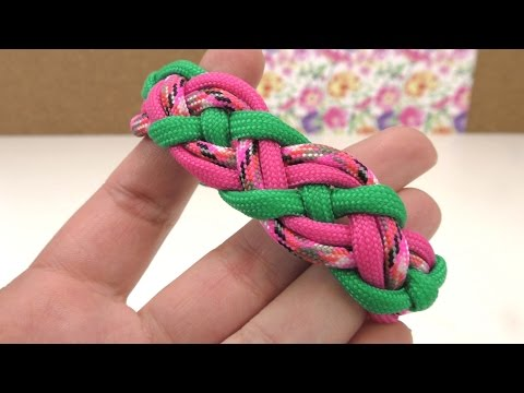 Paracord Armband Anleitung deutsch How to make a Paraco ...