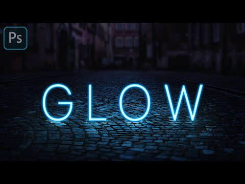 Realistic Glowing Neon Text Effect - Photoshop Tutorial