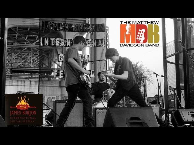 Matthew Davidson at James Burton International Guitar Festival
