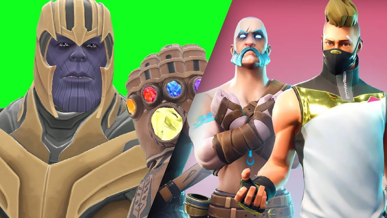 Can Thanos' INFINITY GAUNTLET Kill FORTNITE Forts in Gmod!?