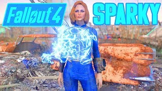 Fallout 4 - Sparky - ElectroMagnetic Force Bubble Companion - Xbox & PC Mod