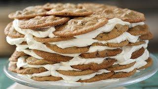 Chocolate Chip Cookie Icebox Cake- Everyday Food with Sarah Carey
