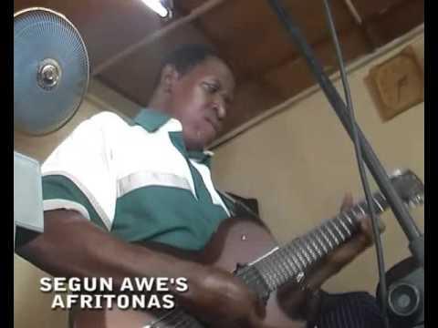 Rehersals - Afritonas, African music - Segun Awe