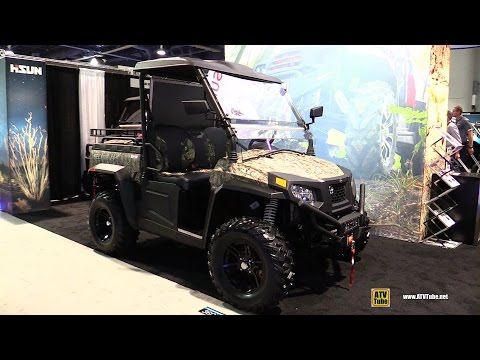 2017 HiSun Sector E1 Electric Utility ATV - Walkaround - Debut at 2016 SEMA Las Vegas