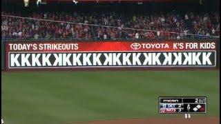MLB 20 Strikeout Games