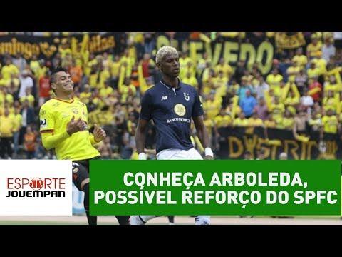 Conheça Arboleda, equatoriano que pode reforçar o São Paulo