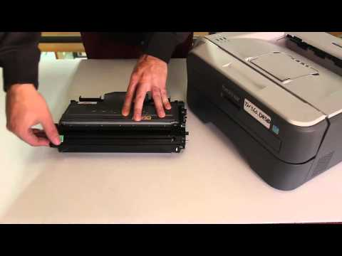 How to Clean the Corona Wire in Brother Imaging Drum DR360 in Brother Printers