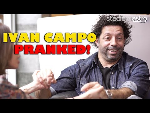 Ivan Campo calms (fake) pregnant TV host | Prank You Very Much | Astro SuperSport