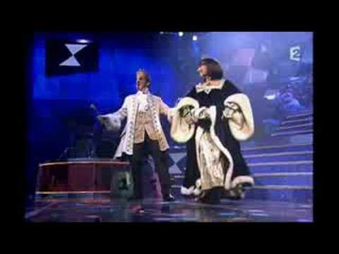Corinne et Gilles Benizio(Le soldat rose)-Le roi et la reine