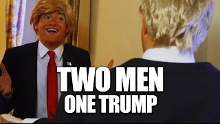 Two Men One Trump - The Secret Life of Donald Trump's Reflection