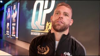 'EUBANK JR IS A P****' - BILLY JOE SAUNDERS RAW! - GOING UP TO 168, DeGALE, ANDRADE & FURY/AJ/WILDER