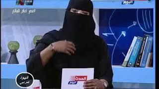 لأول مرة.. مذيعة تظهر بالنقاب على شاشات التليفزيون