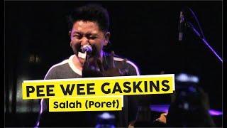 "Download Lagu [HD] Pee Wee Gaskins - Salah ""Potret"" (Live at SOLEVACATION VOL 3.0 Yogyakarta) mp3"