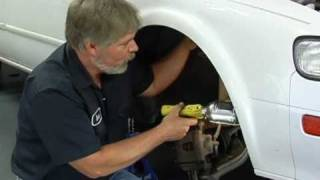 Removing the Passenger-Side CV Axle - AutoZone Car Care